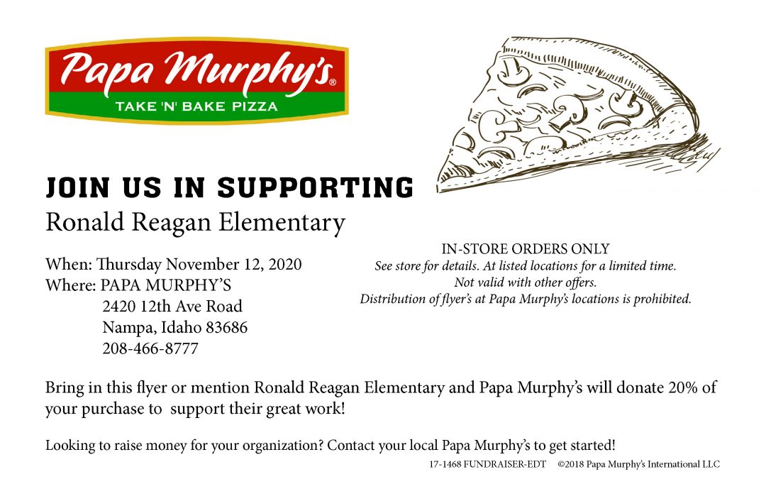 Papa Murphy's Eat Out Night