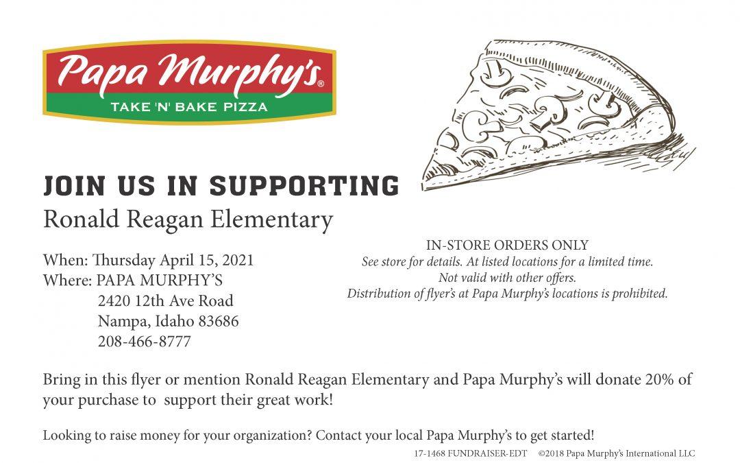 Papa Murphy's April